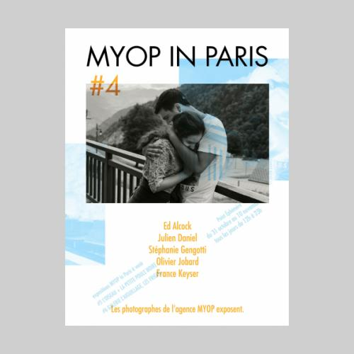 MYOP IN PARIS #4 au Point Ephémère. Octobre-Novembre 2015